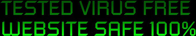 Tested Virus Free Safe 100%